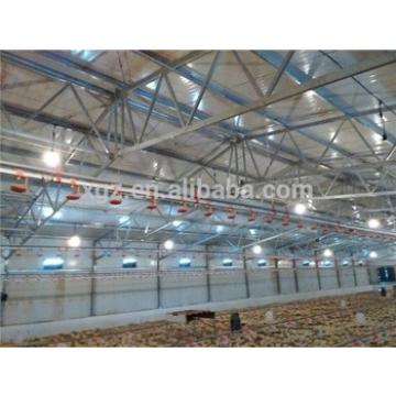 design best price Prefabricated Farm poultry farm design in broiler africa