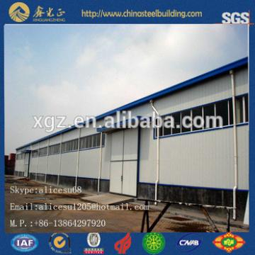 low cost modern steel space truss frame building for sale