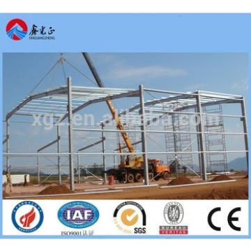 hangar prefabricated steel structure materials