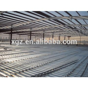 Steel Frame Structure Prefabricated Building For Construction