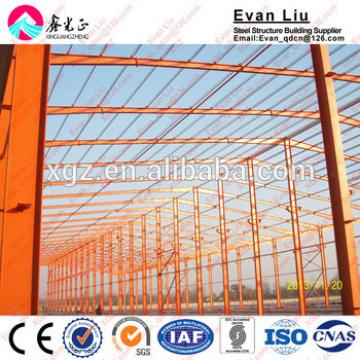Low Cost Warehouse Prefabricated Steel Structure