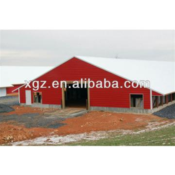 Prefabricated environmental controlled poultry house