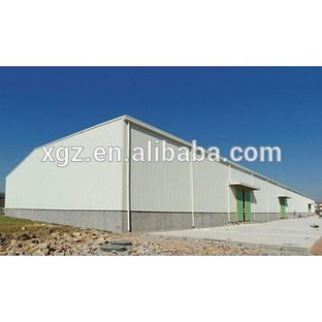 Steel Frame Structure Fabricated Workshop Building