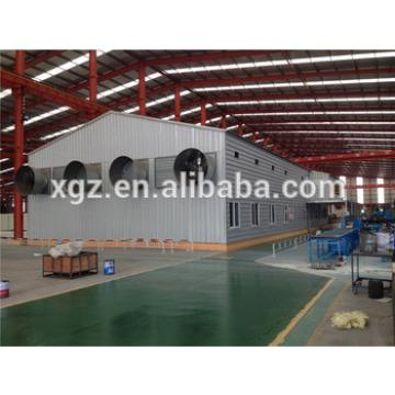 Steel Structure Chicken Poultry House Building