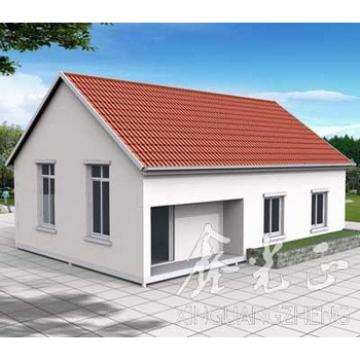 exported cheap economy steel structure prefab house metal building
