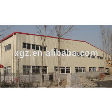 Large Span Steel Structure Workshop Building Manufacturer