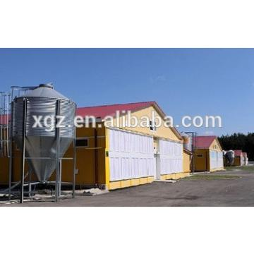 cheap steel poultry house design for layers in kenya farm