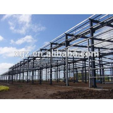 Prefabricated Steel Structure Warehouse Building For Africa