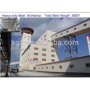 prefabricated high floor workshop