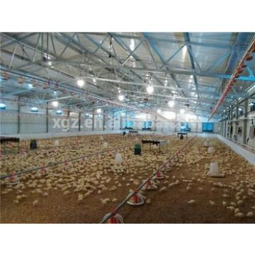 Prefab automated poultry house construction