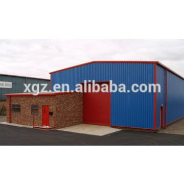 China low cost steel structure prefabricated warehouse hangar