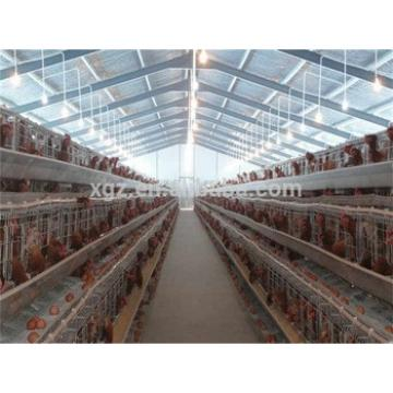 prefab automatic egg chicken house layer