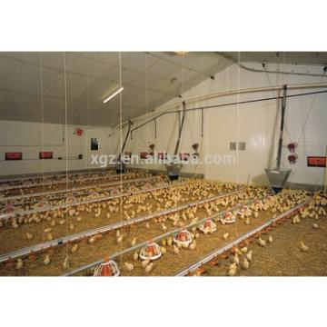 Prefabricated controlled chicken modern farms