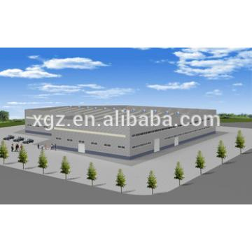 Long span steel hall buildings for factory
