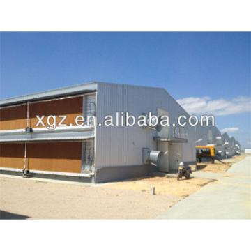 prefab automatic modern poultry farm chicken