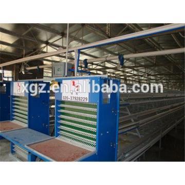 prefab automatic poultry egg hen house