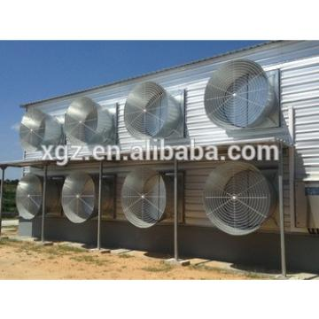 2016 Hot-sale Prefabricated steel structure chicken house
