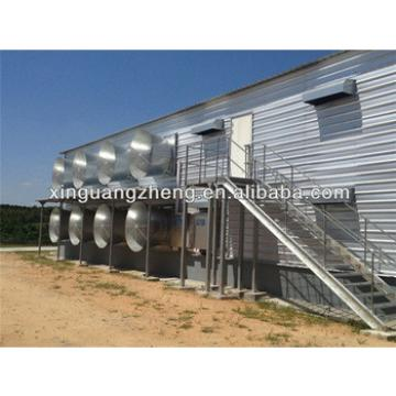 prefab poultry farm layer chicken shed