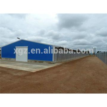 one stop service prefab cheap layer chicken house