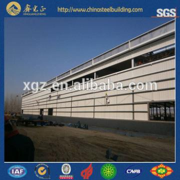 China Low Cost Steel Prefab House workshop warehouse