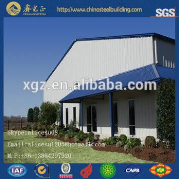 Prefab factory hall steel structure for warehouse design