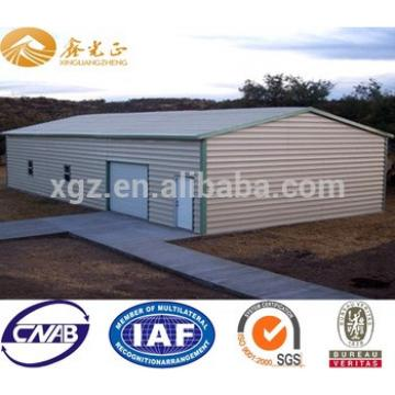 prefabricated steel building with EPS panel