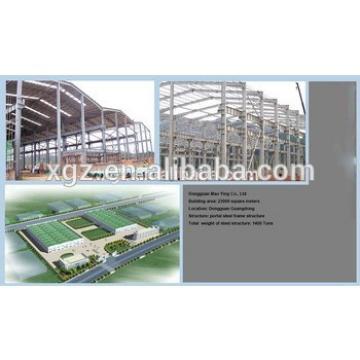 Demountable low cost steel structure workshop