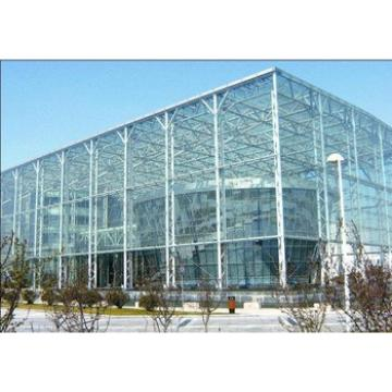 Prefabricated steel structure shop building design&manufacture&installation
