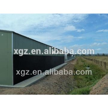 modern design steel poultry farm construction chicken house with automatic equipment for sale