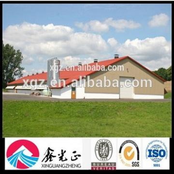 Steel Structure Design Farm Shelter Poultry Farm Construction