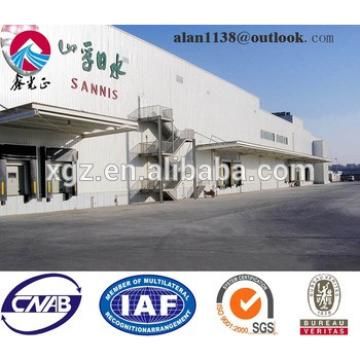 Light Prefabricated Structural Construction Steel Workshop