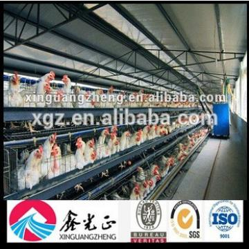 Prefabricated Chicken Poultry Farm Design with Equipment