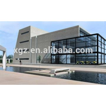 Morden steel building for Showroom and Office