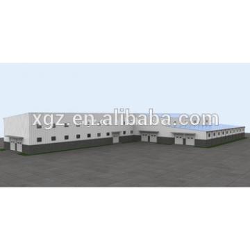 Low cost steel fabrication workshop layout