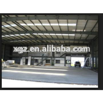 Construction prefabricated steel hangar building for aircraft
