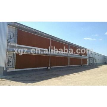 Fully automatic prefab broiler poultry housing