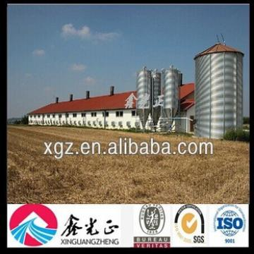 Chicken Egg Poultry Farm Prefab Poultry House with Poultry Equipment