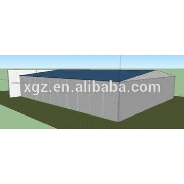 Steel structure modular cheap aircraft hangar