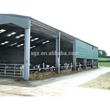 best price modern design cattle farm construction with advanced automtic equipments