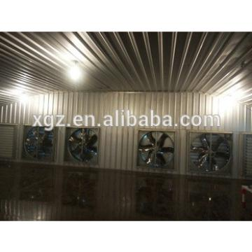 modern design steel structure broiler poultry sheds with low cost automic chicken feeding equipment