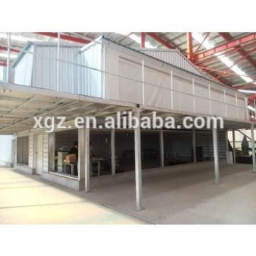best price design automatic steel poultry house for broiler sale in africa