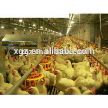 Poultry house for floor breeding