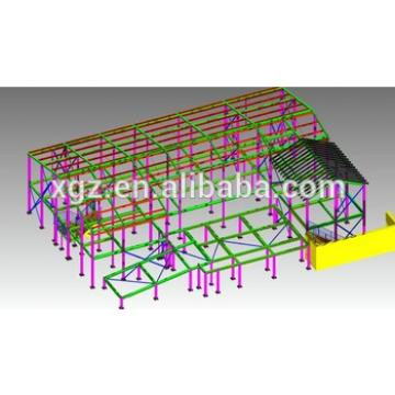 Steel structure building material warehouse design&manufacture and install by China XGZ