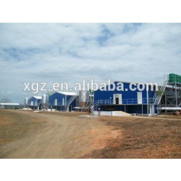 Hot selling Cheap chicken poultry house in Angola