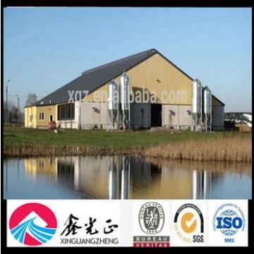 Steel Structure Pig Farm Design