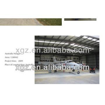 steel building aircraft hanger
