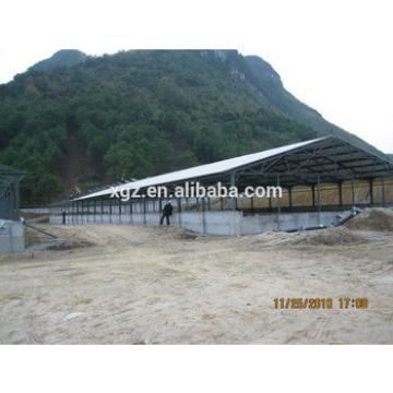 advanced automatic metal design poultry farm shed for pig in africa