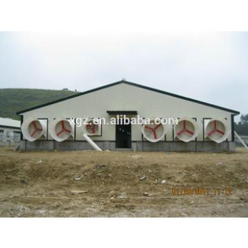 modern hot selling steel structure poultry shed in africa