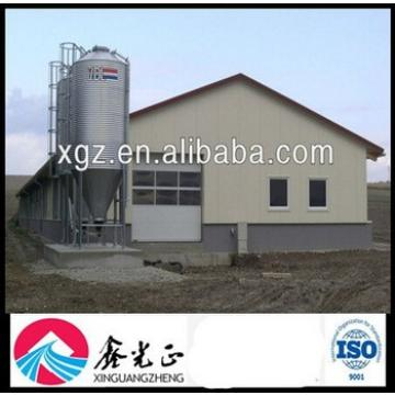 Steel Structure Broiler Poultry Shed Design