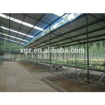 Prefab metal cow shed